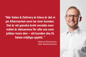 Aftermarket Marcus Rasmusson