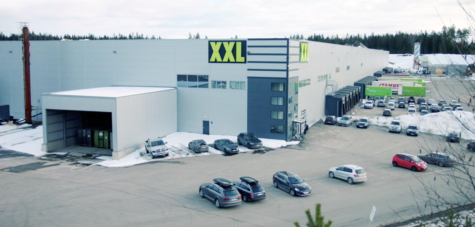 XXL Gardermoen facility
